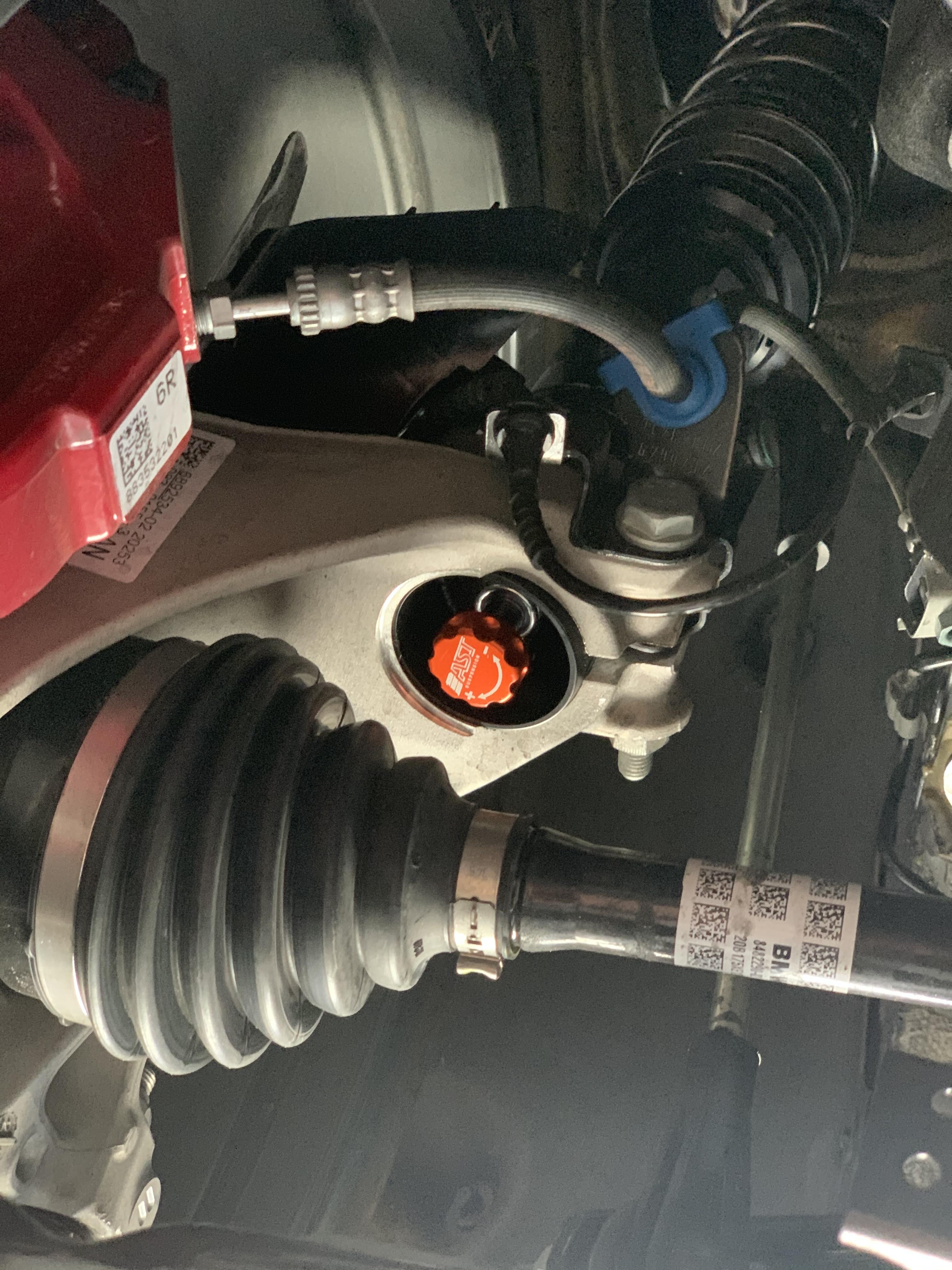Front suspension MINI GP3